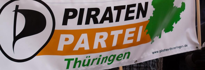 Banner Piraten Thüringen
